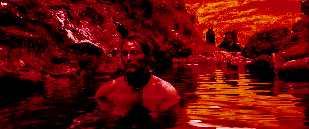 One Eye in water Valhalla Rising
